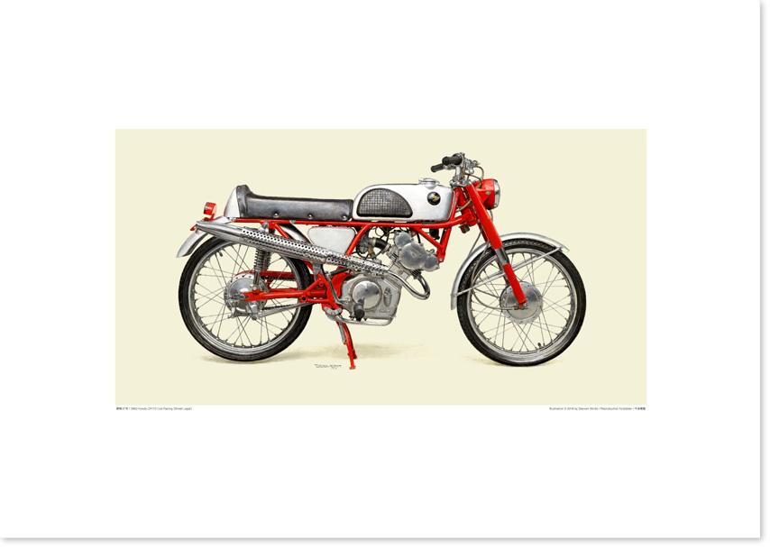画像1: 1962 Honda CR110 Cub Racing (保安部品装着車)