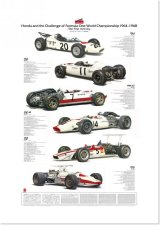 Honda F1-the first activity /A-1 poster