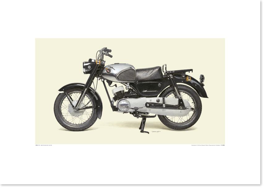 画像1: 1962 KAWASAKI 125 B8